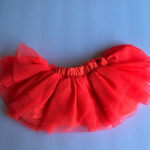 3/$30 Girls infant Coral Tutu 3-6 months